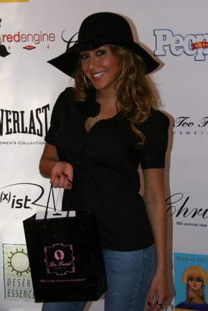 Adrienne Bailon All Black