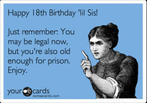 18th Birthday Jokes