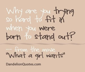 Born to stand out