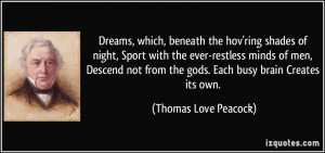 , beneath the hov'ring shades of night, Sport with the ever-restless ...