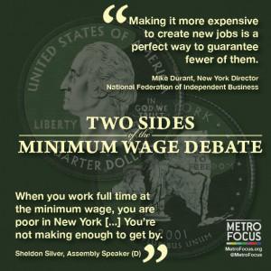 Minimum Wage Graphic MetroFocus