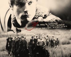 Merlin Quotes - Choice - arthur-and-gwen Fan Art