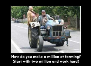 LET'S GO DOWN ON THE FARM