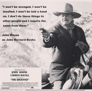 John Wayne! The ultimate cowboy!
