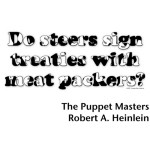 ... by Robert Heinlein. This quote is shown in black and white cow print