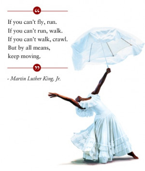 Today Alvin Ailey remembers Dr. Martin Luther King, Jr., who ...