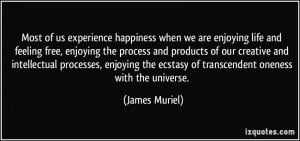 of us experience happiness when we are enjoying life and feeling free ...
