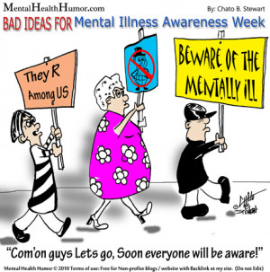 2010-Some Miss The Point of Mental Health Awareness week clipart