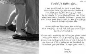 Daddy's letter to unborn baby. So sweet. / maternity - Juxtapost
