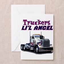 Truck Christmas Greeting Cards
