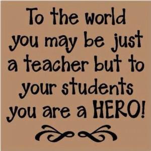Funny Teacher Quotes   Teacher QuotesSayings Hero Students Teaching ...