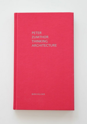 Peter Zumthor, book