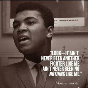 Muhammad Ali Quotes   Muhammad Ali quote