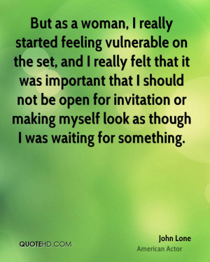 Feeling Vulnerable Quotes