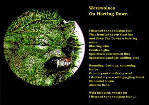 Dark - Werewolf Horror Creepy Spooky Scary Halloween Wallpaper