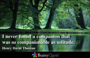 Solitude quote #6