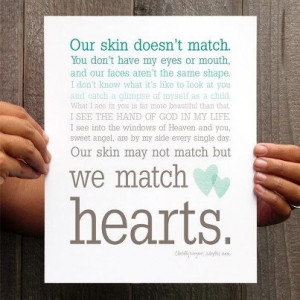 Our Joy Filled Journey: We Match Hearts
