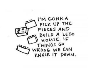 Lego House Lyrics - ed sheeran Picture
