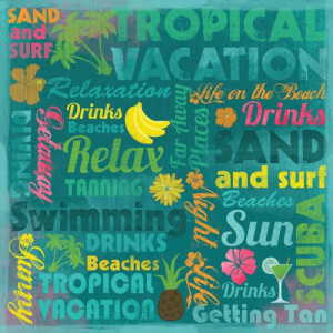 Tropical Vacation Paper 12