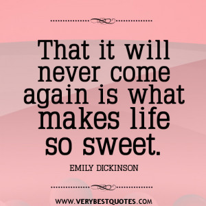 sweet life quotes