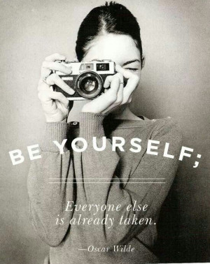 Be yourself #quotes #inspo
