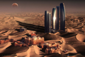... vision of Abu Dhabi, inspired by the movie 'Dune' (1984