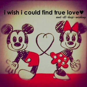 mickey mouse #miney mouse #true love #heart #quote #text #i wish # ...