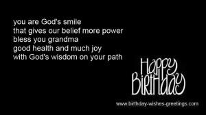 religious birthday verses