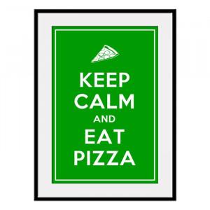 eat pizza...my favorite food!