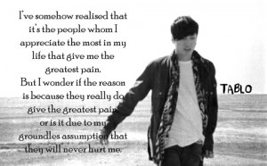 tablo. this may be my favorite quote ever