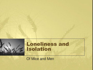 docstoc.comLoneliness and Isolation Of
