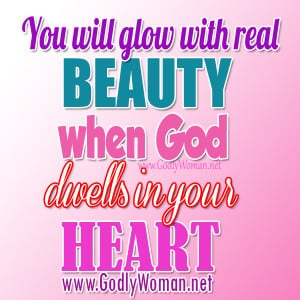 True Beauty Quotes And Sayings You will glow with real beauty