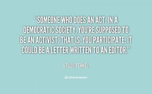 Studs Terkel Quotes