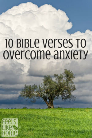 10 Bible verses to overcome anxiety and worry