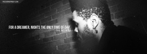 The Weeknd Only Time Of Day Quote Facebook Cover Picture