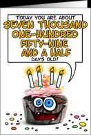 Happy birthday - 19 years old card - Product #277489