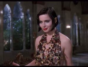 Isabella Rossellini's necklace-shirt is one of the best things about ...