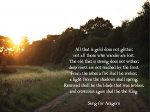 Aragorn Quotes Book