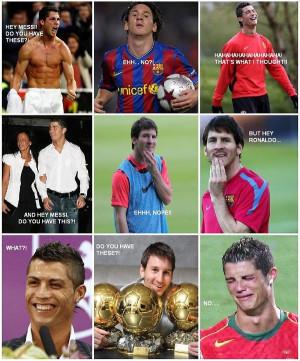 Ronaldo vs Messi - Image