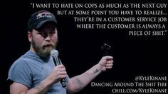 want to hate on cops as much as the next guy but at some point you ...