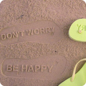 summer, quotes, sayings, inspiring, worry, happy, slippers ...