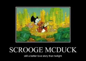 Only today you can know McDuck's truly love. And I guess it is better ...