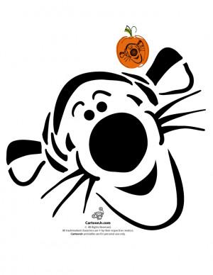 ... www.cartoonjr.com/disney-pumpkin-stencils/tigger-disney-jack-o-lanter