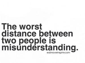 Quotes, misunderstanding