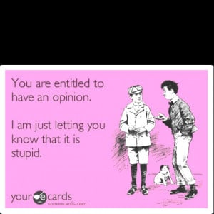 it is stupid funny silly sarcastic rude e card your card joke sarcasm ...