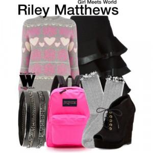 riley matthews fashion