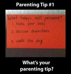 Parenting Tip for Teenagers