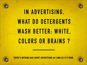 funny advertising quote one liner