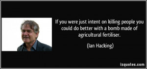 More Ian Hacking Quotes