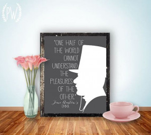 Printable Quote Jane Austen Quote print wall by PrintableWisdom, $5.00
